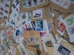 Lot De Timbres BELGIQUE -belgie Sur Découpes D'enveloppes (170g>400qtés) - Vrac (max 999 Timbres)