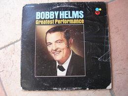 """33 Tours 30 Cm - BOBBY HELMS   - CERTRON 7003   """" GREATEST PERFORMANCE """"  10 TITRES  ( U.S.A ) - Vinyl Records"""