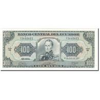 Billet, Équateur, 100 Sucres, 1991-06-21, KM:123Aa, NEUF - Equateur