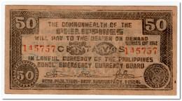 PHILIPPINES,50 CENTAVOS,1942,EMERGENCY CURRANCY,AU - Filippijnen