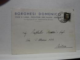 ARGENTA   -- FERRARA  -- BORGHESI DOMENICO  -- STUOIE DI CANNE  -- PRODUTTORE  ERBE PALUSTRI - Ferrara