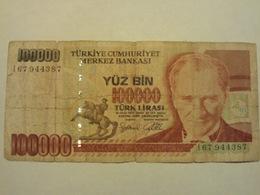 Turchia 100000 Lirasi 1970 Used - Turquie