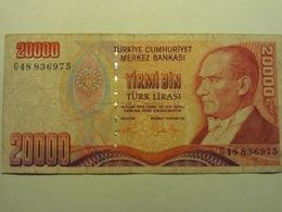 Turchia 20000 Lirasi 1970 Used - Turchia