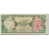 Billet, Équateur, 1000 Sucres, 1986-09-29, KM:125a, B+ - Equateur