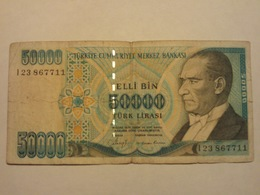 Turchia 50000 Lirasi 1970 Used - Turchia