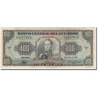 Billet, Équateur, 100 Sucres, 1988-06-08, KM:123Aa, TB - Equateur