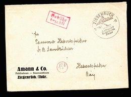 A5603) SBZ Brief Ziegenrück 16.11.45 Mit Barfrankatur - Zone Soviétique