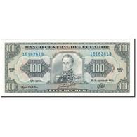 Billet, Équateur, 100 Sucres, 1993-08-20, KM:123Ab, NEUF - Equateur