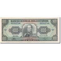 Billet, Équateur, 100 Sucres, 1988-06-08, KM:123Aa, TTB - Equateur