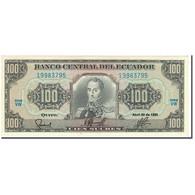 Billet, Équateur, 100 Sucres, 1990-04-20, KM:123, SPL - Equateur