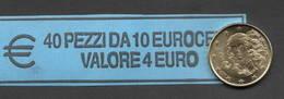 ITALIA  2017 - ROLL 10 CENT  ORIGINALE ZECCA - DATA VISIBILE - FDC - Rollos
