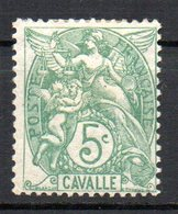 Col10 / Cavalle : N° 10  Neuf  X MH , Cote : 4,00 € - Cavalle (1893-1911)
