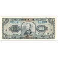 Billet, Équateur, 100 Sucres, 1992-12-04, KM:123Ab, SUP - Equateur