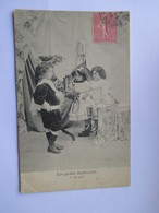 Cpa 1905 De La Série Les Petits Indiscrets  - N° 3 (Avec Défaut Semelle Décollée ) - Groupes D'enfants & Familles