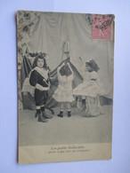 Cpa 1905 De La Série Les Petits Indiscrets  - N° 1 (Avec Défaut Semelle Décollée ) - Groupes D'enfants & Familles
