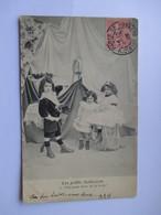 Cpa 1905 De La Série Les Petits Indiscrets  - N° 2 (Avec Défaut Semelle Décollée ) - Groupes D'enfants & Familles
