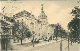 Ansichtskarte Potsdam Straße An Der Regierung 1912 - Potsdam