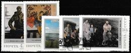 Russland UdSSR 1987 Sc. Nr. 5605-5609 Gestempelt (4391) - 1923-1991 USSR