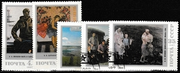 Russland UdSSR 1987 Sc. Nr. 5605-5609 Gestempelt (4391) - 1923-1991 UdSSR