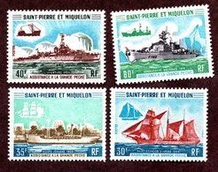 St Pierre Et Miquelon N°410/13 N* TB  Cote 245 Euros !!! - Unused Stamps