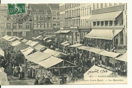 59 - DUNKERQUE / PLACE JEAN BART - LE MARCHE - Dunkerque