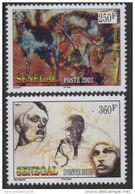 Sénégal 2003 L'Afrique Sacrifiée La Tabaski Rituel Tradition 2 Val. RARE MNH - Senegal (1960-...)