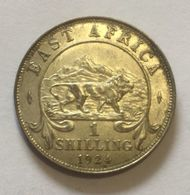 East Africa - Shilling (1924) George V - Monnaies