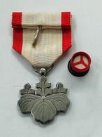 Medaille Japon - Ordre Du Soleil Levant - Classe Argent - Medals