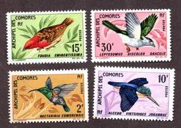 Comores N°41/44 N** LUXE Cote 36 Euros !!! - Comores (1950-1975)
