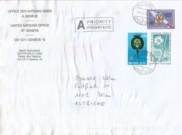 UN Geneva 2005 Geneve UNITAR Drugs Papaver Disarmement Cover - Cartas