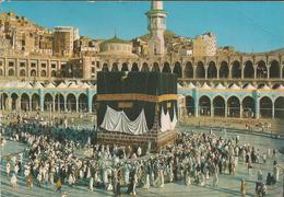 JEMEN JEDDAH THE HOLY KA'ABA, PC , Circulated - Pakistan
