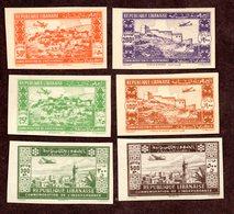 Grand Liban PA N°85/90 ND N* TB Cote 368 Euros !!!RARE - Luchtpost