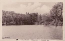 C22- 19) CHAMBERET (LA CORREZE ILLUSTRÉE)  L'ETANG DE CRAU  - (2 SCANS) - Autres Communes