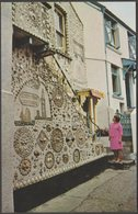 The Shell House, Polperro, Cornwall, 1965 - Postcard - England