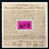 Seychelles 1976 Bicentenary Of American Revolution MS MNH (SG MS392) - Seychelles (1976-...)