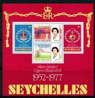 Seychelles 1977 Silver Jubilee MS MNH (SG MS401) - Seychelles (1976-...)