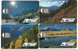 @+ Andorre - Lot De 4 TC Saisons - 20 000ex - Ref : AND002 à 005 (1991) - Andorra