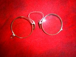 ANCIENNE LUNETTE LORGNON 1900 HOMME - Brillen