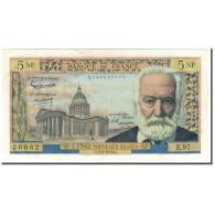 France, 5 Nouveaux Francs, 5 NF 1959-1965 ''Victor Hugo'', 1963-02-07, SUP+ - 5 NF 1959-1965 ''Victor Hugo''