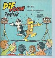 PIF POCHE  N° 87  -  VAILLANT  1972 - Kleinformat