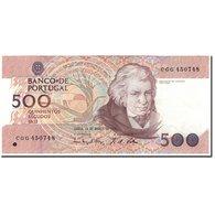 Billet, Portugal, 500 Escudos, 1993-03-18, KM:180e, SPL - Portugal