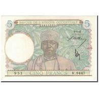 Billet, French West Africa, 5 Francs, 1942-05-06, KM:21, NEUF - États D'Afrique Centrale