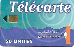 @+ Maroc Telecom 50U - Puce SIE 37 - Date 06/01 Série 2001 - Maroc