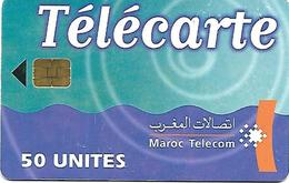 @+ Maroc Telecom 50U - Puce SIE 37 - Date 06/01 Série 2001 - Morocco