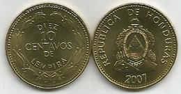 Honduras 10 Centavos 2007. High Grade - Honduras