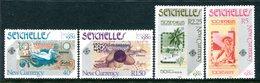 Seychelles 1980 London'80 International Stamp Exhibition - New Currency Set MNH (SG 468-471) - Seychelles (1976-...)