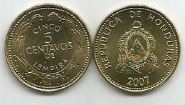 Honduras 5 Centavos 2007. High Grade - Honduras