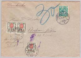 Drucksache Von Zürich, Portomarke (br5098) - Covers & Documents