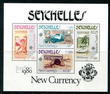 Seychelles 1980 London'80 International Stamp Exhibition - New Currency MS MNH (SG MS472) - Seychelles (1976-...)