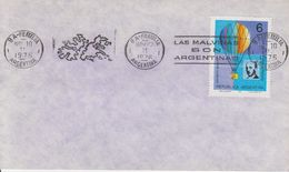 "Argentina 1976 Ca ""Las Malvinas Son Argentinas"" Ca 11 Nov 1976 Cover (40357) - Argentinië"